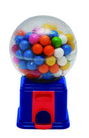 Transparent Globe Shaped Candy Gumball Dispenser