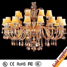 Factory wholesale glass pendant light Chandelier Crystal