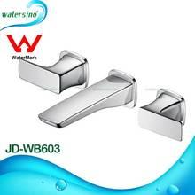 Watermark concealed double handles wash basin tap models