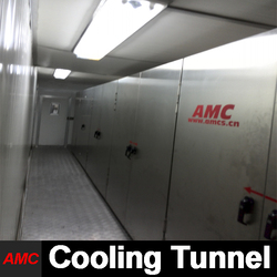 Cost Saving Full Automatic fondant cut machine Cooling Tunnel For High-output Production Line
