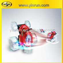 Hot sale Chrismas Gifts single wheel spinning remote control kid small toy cars