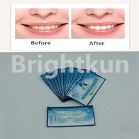 CE 6% hydrogen peroxide Teeth Whitening Strips, Good effect as Crest 3d whitestrips