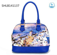 2015 Latest Shell Oil Paint Tote Bags Vintage Retro England Handbags