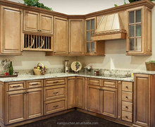 New modern style wood kitchen cabinets with fine quality