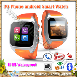 Lowest Price MTK6572 IP65 waterproof 2g gsm 3g cdma mobile watch phones