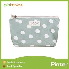 Yiwu pinter bags factorys cotton material plain makeup artist bag,funny makeup artist bag