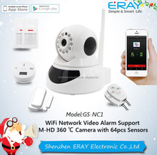 H.264 compression IP camera 1000,000 pixels CMOS .TF card max 64 GB easy to install