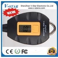 2015 Portable Mini Keychain LCD Tire Wheel Digital Car Tyre Air Pressure Gauge