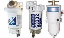 Fuel filters, Oil filters, And Air filters (Parker Racor)