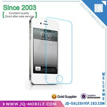 Factory Price High Transparent Clear 0.4mm Tempered Glass Screen Protector For iPhone 4/4S