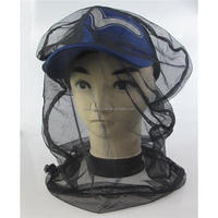 Black Mosquito Bug Insect Bee Mesh Head Net Protect Hat Fishing Camping Hunting mosquito head net mask