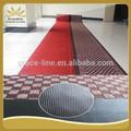 PVC backed Corredor tapete com desenho jacquard