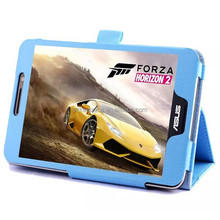 High Quality Shockproof Flip Folio Leather Case for Asus Tablet Case