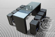 GW0086 Pop bar set outdoor furniture