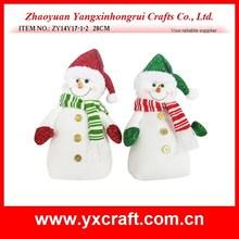 christmas decoration (ZY14Y17-1-2) plush snowman