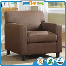 PU PVC LEATHER UPHOLSTERED MODERN LIVING ROOM FURNITURE HOTEL LOUNGE COFFEE SHOP CUP ARMCHAIR