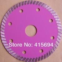 105X7X22.23-15.88mm hot pressed super thin turbo diamond saw blade for tiles, ceramic,granite,marble,bricks and concrete