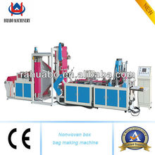 side seal with bottom gusset non woven bag making machine