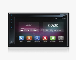 """6.1"""" 2 din universal Full Touch Screen Android 4.4.4 Car Dvd Player"""
