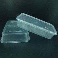 New Products Disposable Plastic Transparent Box