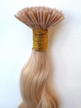 0.8g per strand russian double drawn stick tip hair extension with 100% remy human hair