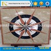 "48"" factory price square shape rossa verona marble waterjet for floor & wall decor"