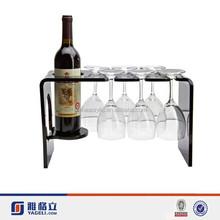 Wholesale acrylic wine rack, hanging wine glass rack