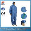 Non-woven disposable medical non woven coverall with hood