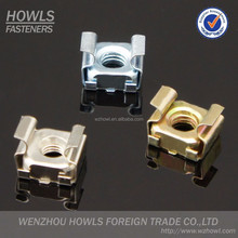 stainless steel carbon steel zinc plated cage nut / cassette nut / cassette square nut (M3,M4,M5,M6,M8,M10,M12)