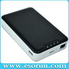 2014 nuevo diseño inalámbrico 500GB/1TB disco duro externo como banco / enrutador inalámbrico de energía