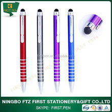 2 in 1 Metal Long Stylus Pen