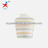 SIMPLE FASHION COLOURED ENAMEL GLASS LAMP SHADE