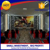 Newest Best Seller Commercial 6/8/9/12 Seats 5D Cinema Simulator
