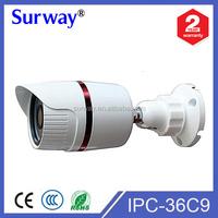 Good quality IP bullet camera 1/3 CMOS Hi3518C+AR0130 solution 1.3 Megapixel Camera