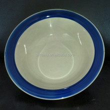 ceramic omega bowl color glaze round shape