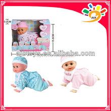 "Chenghai Toys 9"" B/O Cuet baby doll toys wholesale"