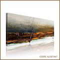 Pintado à mão venda quente abstrato moderno pinturas da lona de shore sceneryfor decoração da parede