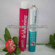 Aluminum Squeeze Tube For professional salon hair color cream