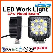 High Brightness Good Heat Dissipation new 27w car led tuning light led work light