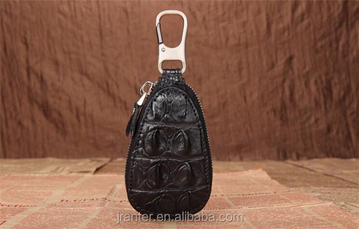 Luxury handmade key case for car genuine crocodile leather car key case for BMW TOYOTA _8