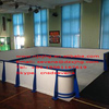 Impact resistance hdpe componet ice skating rink barrier