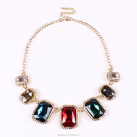 Fashion ally express Crystal bijoux fancy necklace
