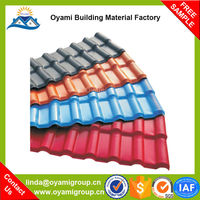 Advanced Materials colored purple roof tile for construction
