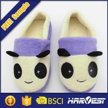 kids plush fuzzy indoor animal slipper,stuffed animal slippers
