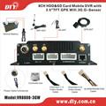 Alta reputación 8 canales 3 g mdvr h.264 cctv dvr con software de cliente, VR8808-3GW
