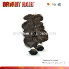 wholesale the unique I-tip Indian human hair extension