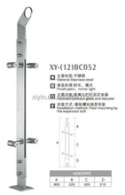 XY-(12)BC052 304 Stainless Steel balcony railing / house baluster