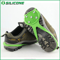 China supplier best selling silicone silicone metal spike shoes