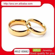 bisuteria de acero inoxidable anillos de la joyería orgullo gay pareja de oro anillo