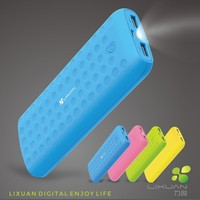 cell phone external battery, outdoor mobile battery with led screen power bank 7800mah